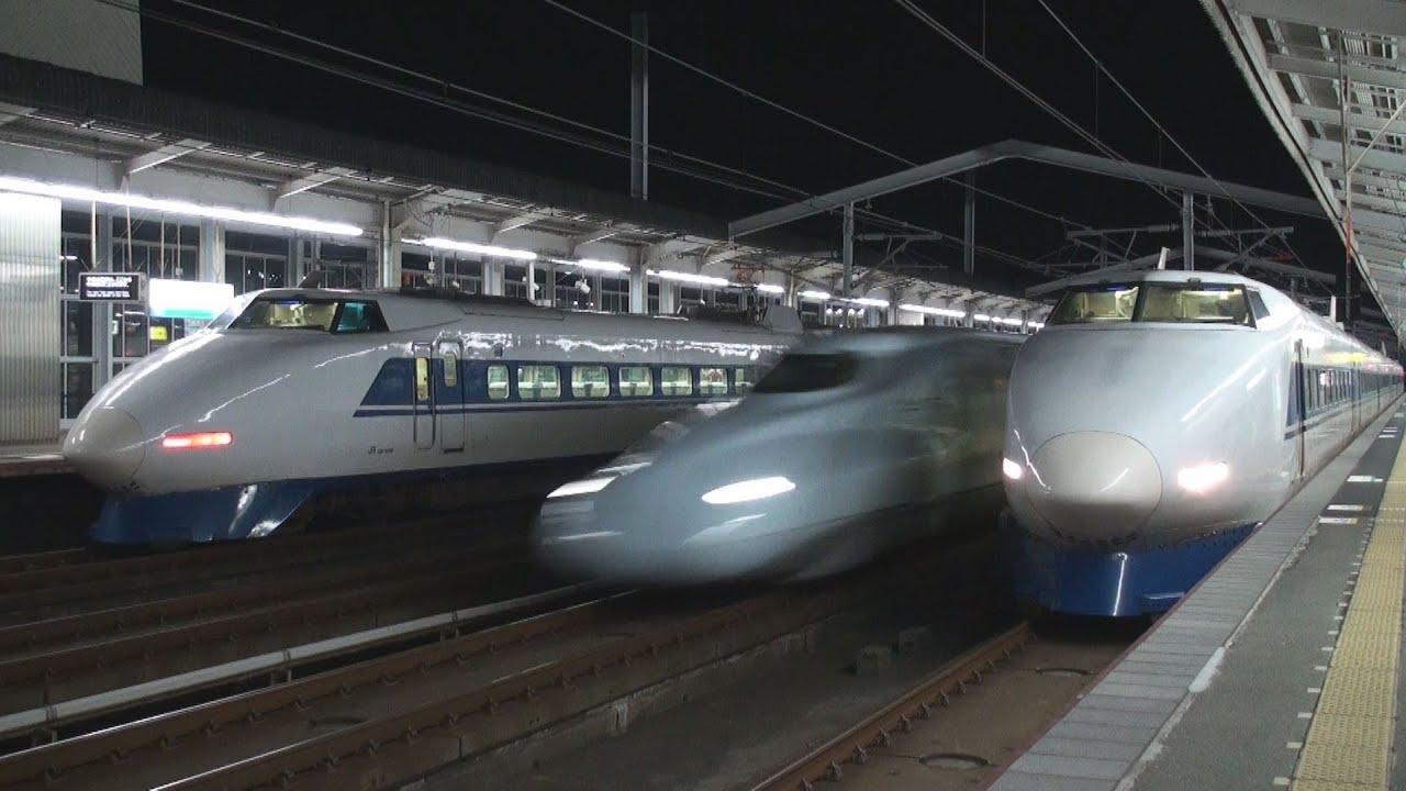 さよなら100系新幹線 国鉄色の共...
