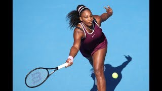 """""""wow!"""" serena williams' top shots 