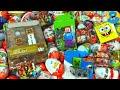 Киндер Сюрпризы,A Lot Of Candy and Kinder Surprise Eggs Майнкрафт,Minecraft,Губка Боб,РИО