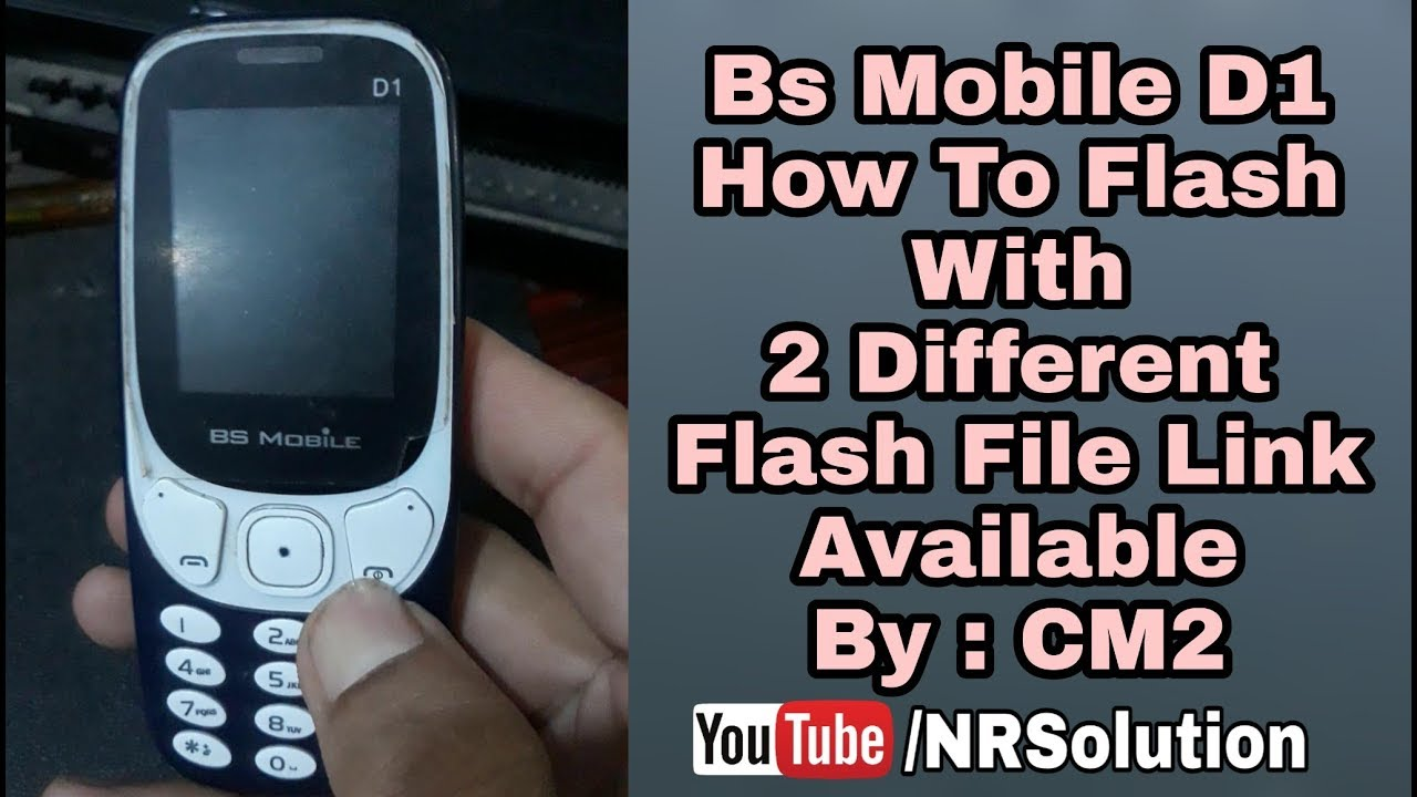 Bs Mobile D1 Full Flash With File Links