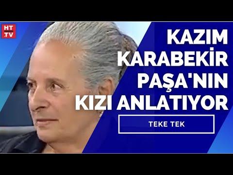 Kazım Karabekir Paşa'nın Kızı Timsal Karabekir Ermeni Tehcirini anlatıyor | Teke Tek-17  Mayıs 2009