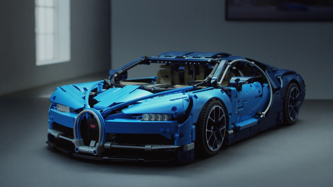 lego technic 42083 bugatti chiron sports car model lego. Black Bedroom Furniture Sets. Home Design Ideas