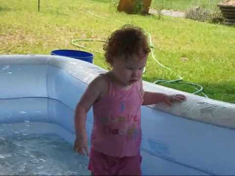 Thats my daughter in the water.