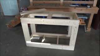 90 gal. Reef Tank Stand Build (part 1)