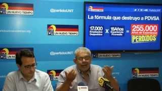 """Elías Matta: """"Actualmente PDVSA es inauditable"""""""