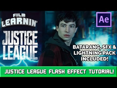 Justice League Flash Effect Tutorial! | Film Learnin