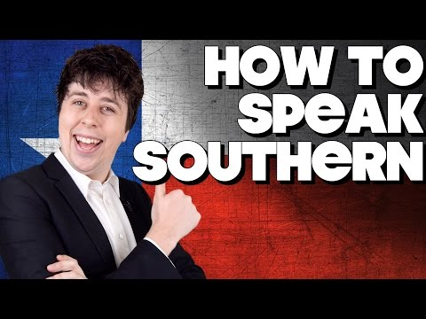 How To Speak Southern American
