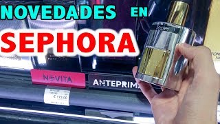 Novedades en Sephora - Tom Ford Metallique, YSL Y Live, JPG Le Beau, etc...
