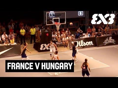 France v Hungary - Final - Full Game - FIBA 3x3 Women's Debrecen Tournament 2018
