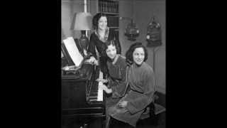 Boswell Sisters - Top Hat, White Tie, and Tails