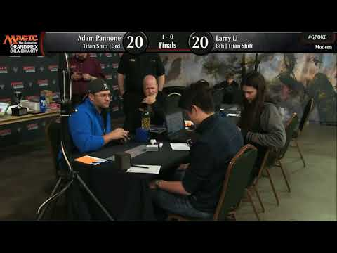 Magic the Gathering GP OKC 2017 Finals