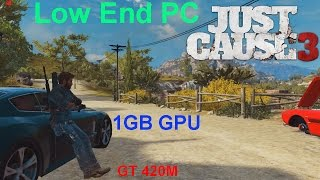 Just Cause 3 Low End Laptop Test + FPS