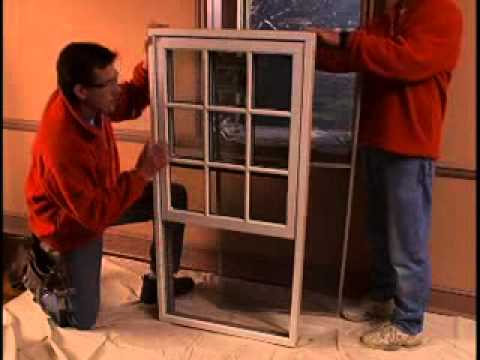 How To Install Woodwright 174 Double Hung Insert Replacement