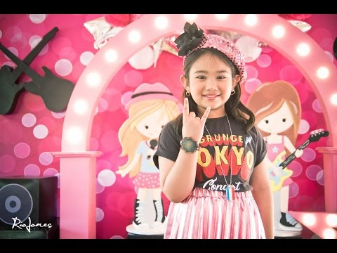 Bella's Rockstar 7th Birthday at Amistosa Alabang