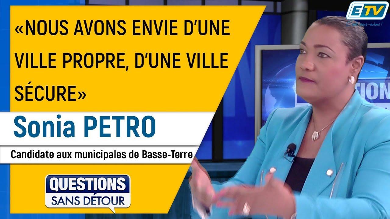 Questions Sans Détour avec Sonia PETRO