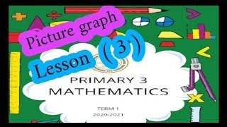 ماث للصف الثالث الإبتدائى الدرس ( 3 ) picture graph  ازاى اشرحه لابنى بطريقه سهله الترم الأول
