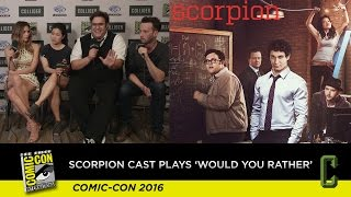 "Watch the Cast of 'Scorpion' Play ""Would You Rather"" and Tease Season 3"