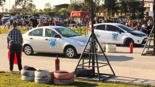 Hyundai Accent Era CRDi vs Ford Fiesta TDCi Drag