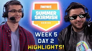 WEEK 5 Fortnite Summer Skirmish Day 2 Highlights!