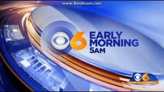 WTVR: CBS 6 News Early Morning At 5am Open--11/25/16