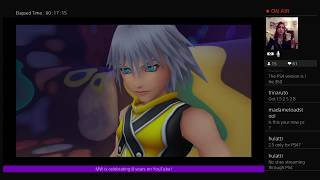 @8 Year Anniversary Stream ~ Kingdom Hearts: Final Mix (Blind) Continues!