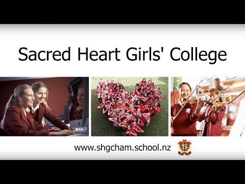 Sacred Heart Girls' College Hamilton, New Zealand - International Students