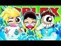 Roblox Murder Mystery Bathtub Challenge! with Gamer Chad & MicroGuardian - DOLLASTIC PLAYS!