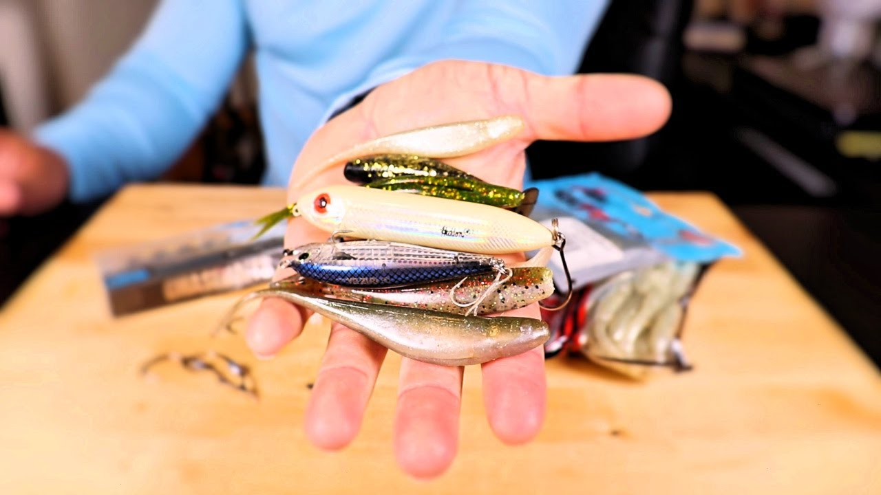 The Only 2 Fishing Lures You Need On Your Kayak