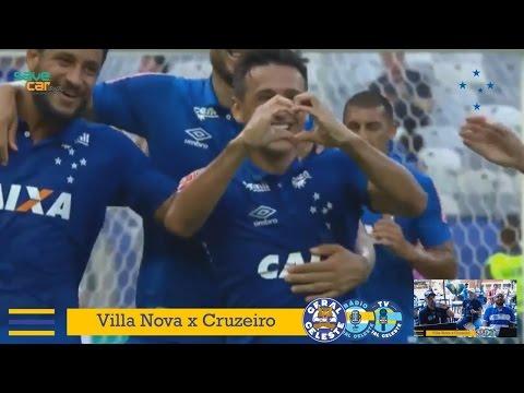 #RádioGeralCeleste - GOLS Villa Nova 1 x 2 Cruzeiro