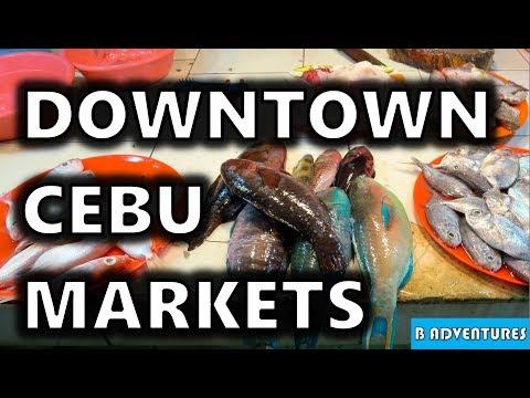 Cebu City Downtown Markets, Philippines S3, Vlog #106