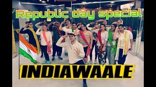 Republic Day Special Choreography | India Wale | Easy Bollywood-Dance Choreography | Dance Workout