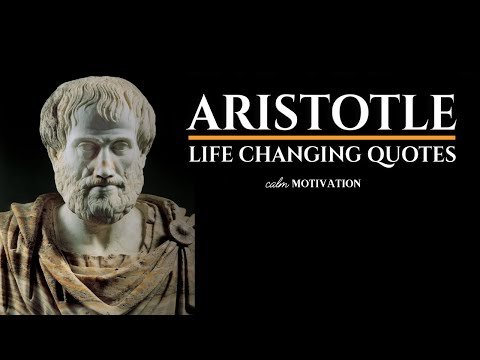 ARISTOTLE - LIFE CHANGING QUOTES | EXCELLENCE IS A HABIT!