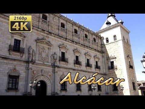 El Alcazar de Toledo - Spain 4K Travel Channel