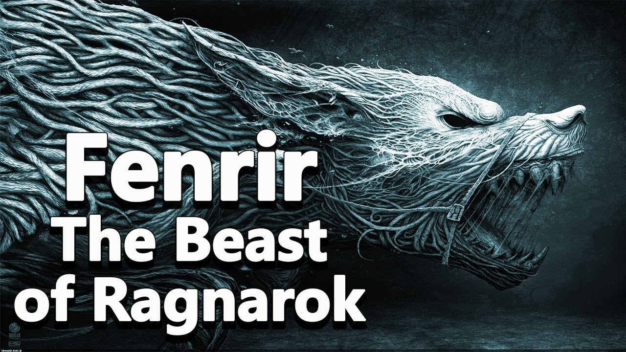 9f4e9d58b Fenrir the Beast of Ragnarok - Norse mythology - Mythological ...