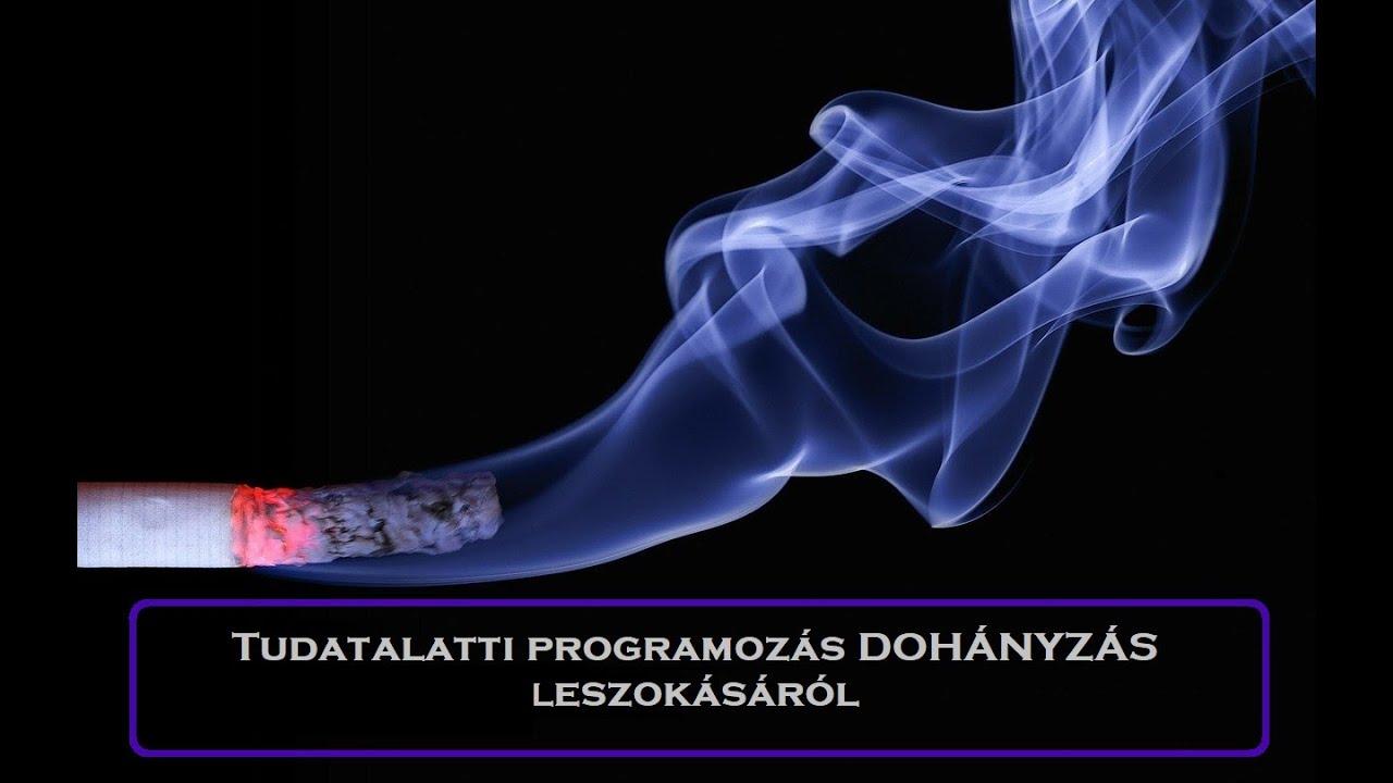 hogyan lehet a tudatalatti elhagyni a dohányzást dohányzó tabletták nikotinnal