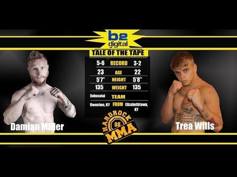 Hardrock MMA 88 Fight 1 Trea Wills vs Damian Miller 135 Ammy
