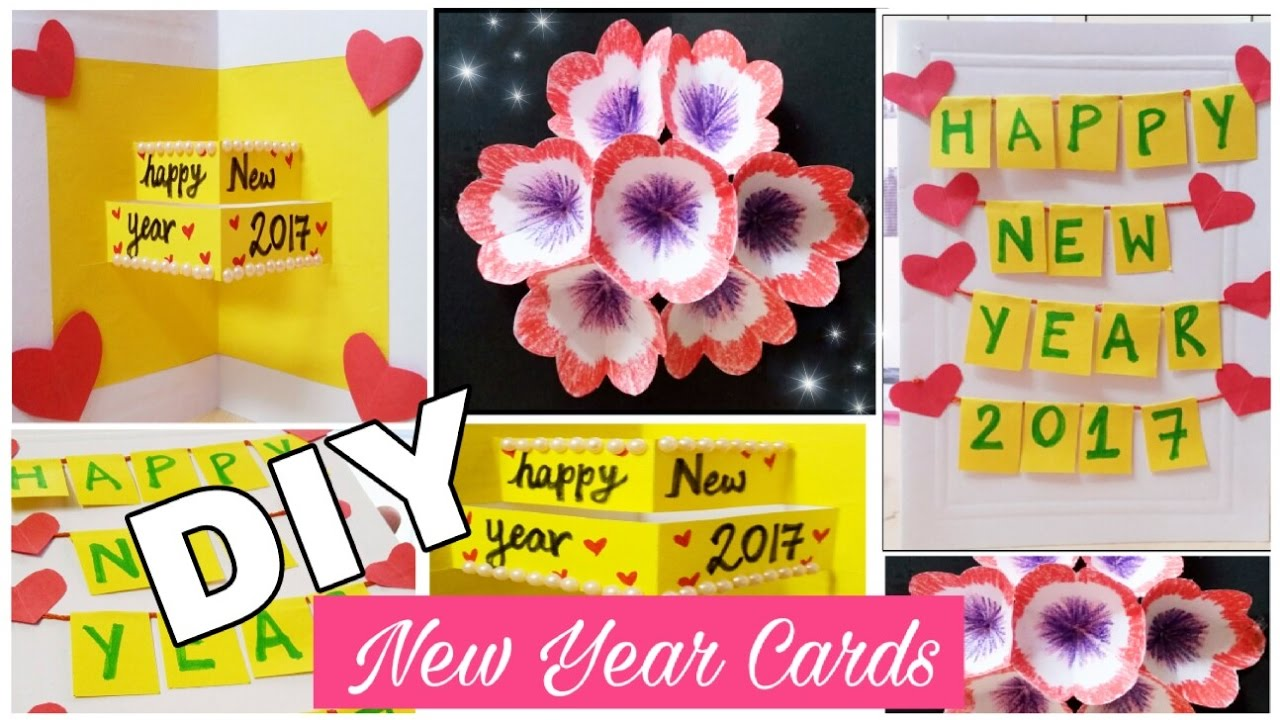 diy easy new year cards 2017 3 creative pop up cards