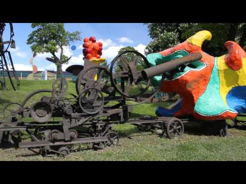 Stockholm, Sweden - modern art installation by Niki de St Phalle and Jean Tinguely