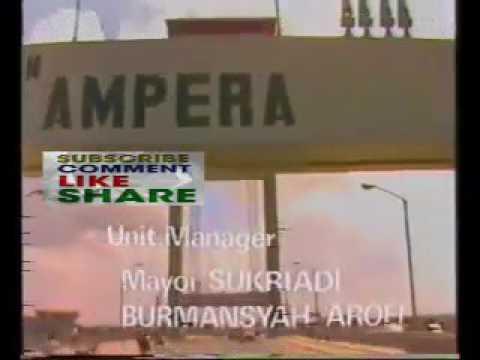 Jembatan Ampera Jaman dulu, diiringi mars ABRI