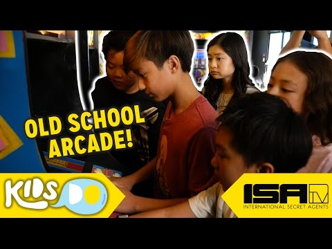Arcade Games Your Asian Parents Played! - KIDS DO Ep. 4