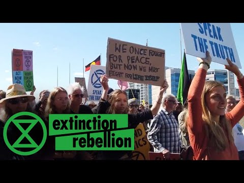 Declaration Of Rebellion! - Perth, Western Australia | Extinction Rebellion
