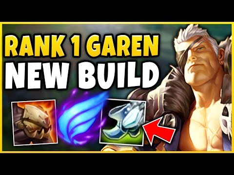 #1 GAREN WORLD *NEW* MEGA-MOBILITY BUILD! RANK 1 TRYND VS. RANK 1 GAREN BUILD - League of Legends