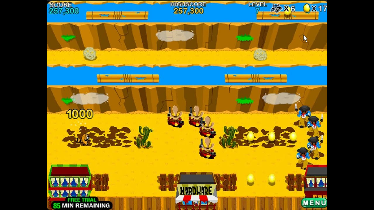 Varmintz Deluxe Windows Game 2004 Youtube