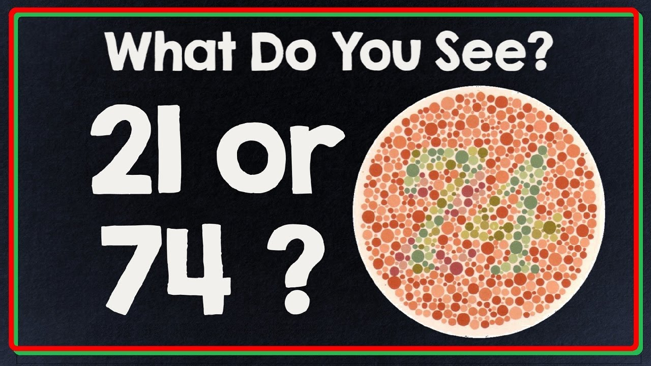 Color blind test do you see color like everyone else for What color do you like