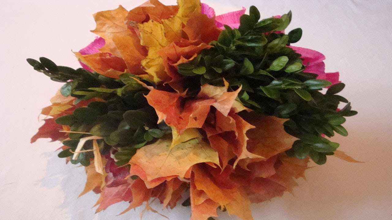 Blumenstrau selber binden Floristik Anleitung