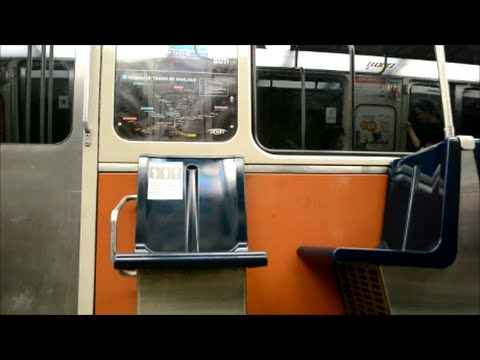 MONTREAL METRO RIDE - LIONEL-GROULX TO FRONTENAC STATION