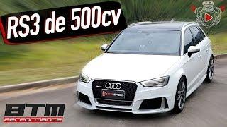 Avaliação Audi Rs3 Revo Stage 2 De 500cv!!   | Top Speed