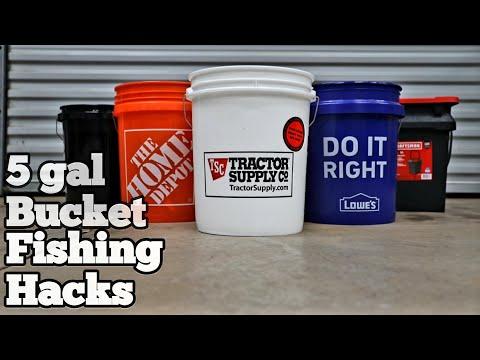 17 Bucket Hacks  ( For Fishing )