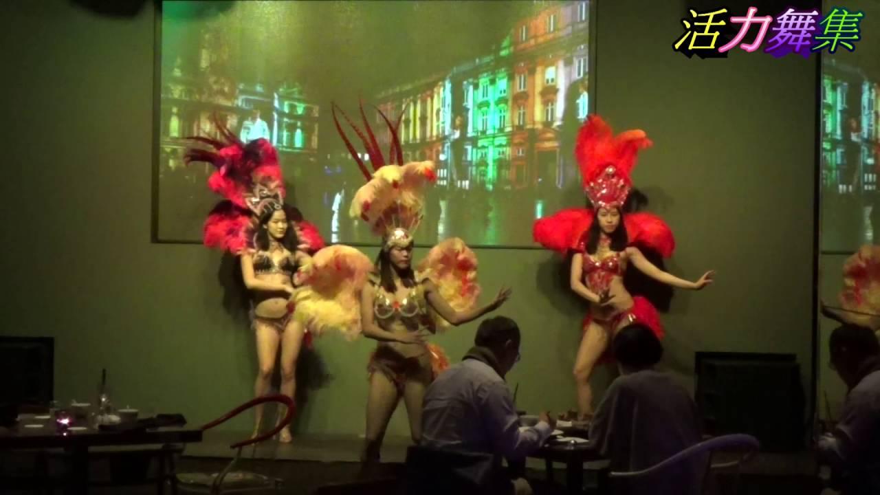 巴西嘉年華森巴舞,森巴女郎表演,巴西森巴舞表演團體,跳Samba巴西森巴舞 - YouTube