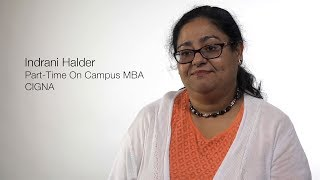 Alumni Careers: Indrani Halder, Part-Time On-Campus MBA